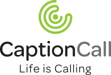 CaptionCall Vertical Logo